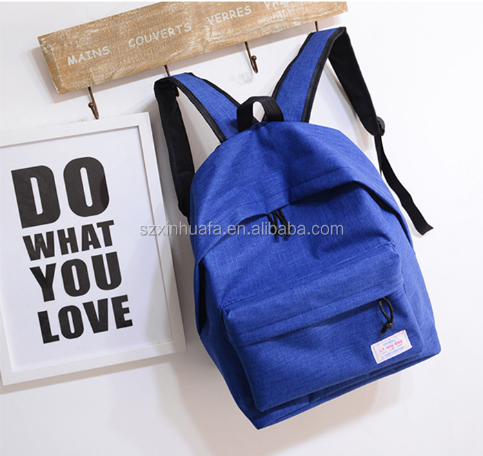 High Quality Multicolor Nylon Backpack School Bags For College