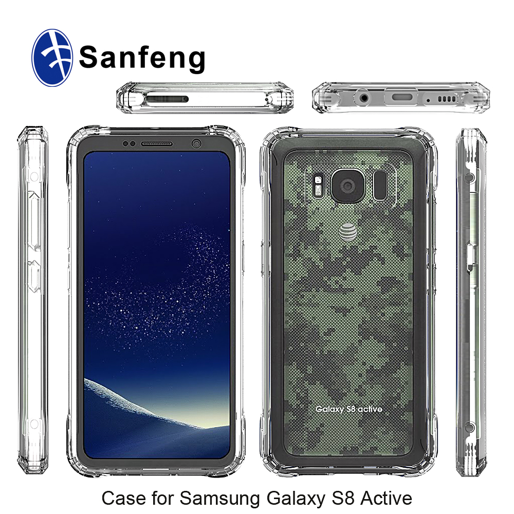 new product fd84d eb20c Clear Crystal Cover Case For Samsung S8 Wholesale, Case Suppliers ...