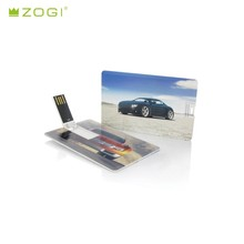 Low factory price usb busienss credit card usb flash drive card custom logo printing support full print
