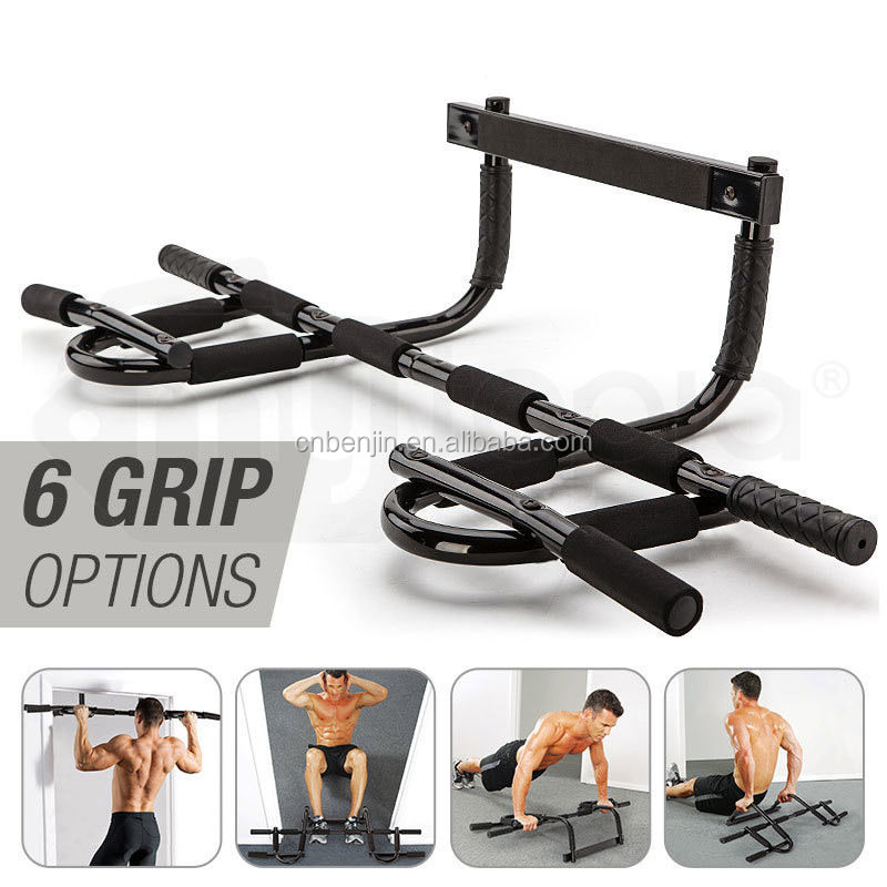 Multi Exercise Gym Equipment Door Chin-Up Bar Wall Mounted Bar