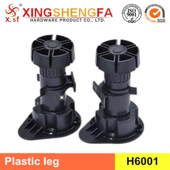 ABS Kitchen Cabinets Adjustable Legs Plastic Leg For Kitchen