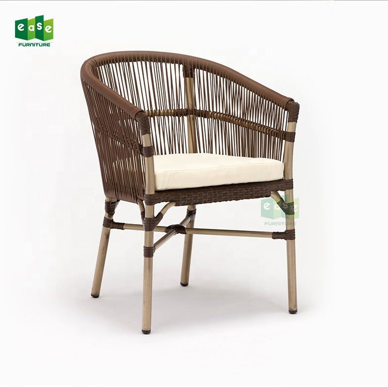 Restaurant Chairs Cheap: Cheap Price Commercial Outdoor Rattan Cafe Chair For