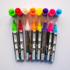 Hot sale 6mm double tip fluorescent liquid chalk marker pen led writing board fluorescent pen