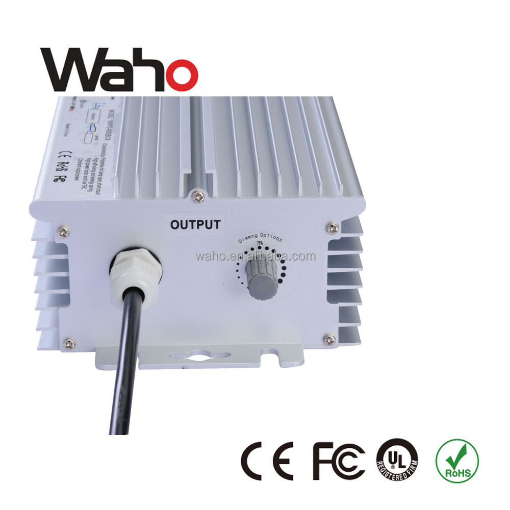 Best quality digital electronic ballast knob/auto/PLC/Dali/PWM/0-10v dimmable ballast price