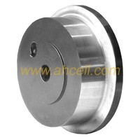 Foundry cooling lines heavy duty turntable machined flanged steel industrial truck track rail wheel
