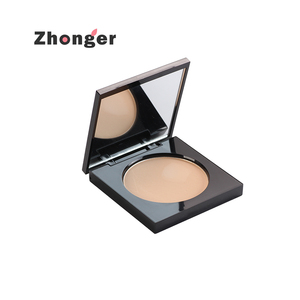 OEM High End Waterproof Matte Compact Powder With Mirror For Makeup