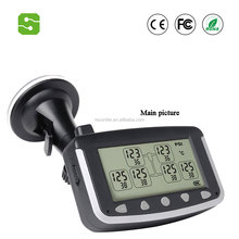truck TPMS with external sensors, Tire Pressure Monitoring System for 6-22 wheels truck