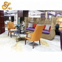 Fashionable hotel leisure tea table and chair set