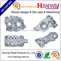 china manufacturer custom made aluminum parts sand blasting aluminum die casting motorcycle auto parts