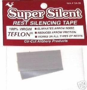 Adhesive Teflon Bow ARROW REST SILENCING & SPEED TAPE Archery
