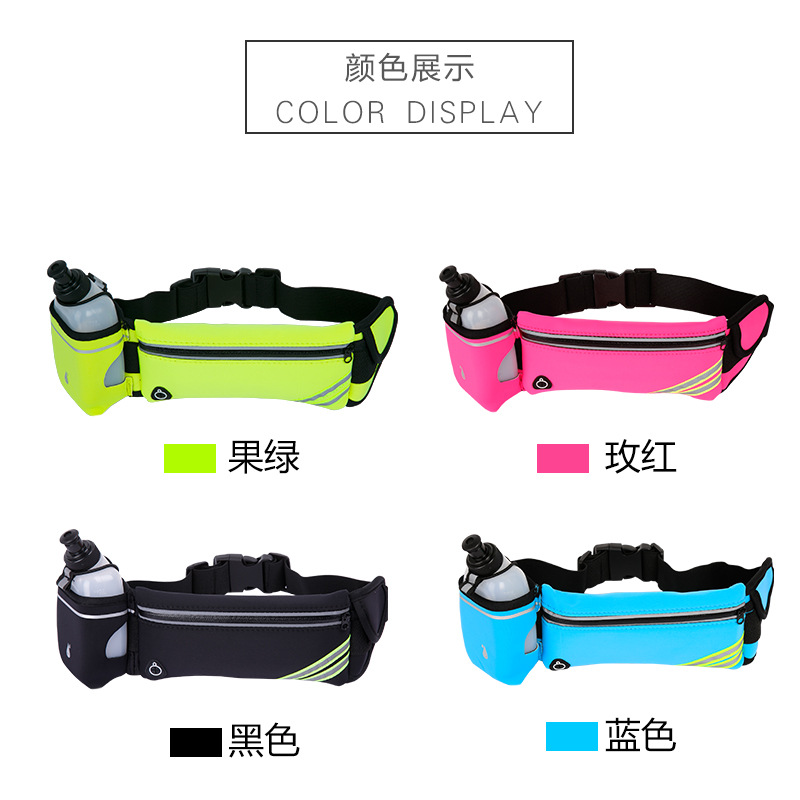 China wholesale fanny pack factory sequin waist bag fashion rainbow fanny pack