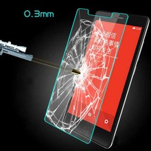 0.3mm Premium 9H Hard 2.5D Round Edge Transparent Tempered Glass Screen Protector for xiaomi mi5s Plus note2 mix redmi4 hongmi4A