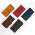 Phone Case for LG K11,Soft TPU + Slim Leather PU Wallet Flip Cover Case