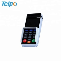NFC EMV Visa Card Reader Digital Signature Mpos terminal with 2 PSAM slot For Retail Railway / topup / Utility fare