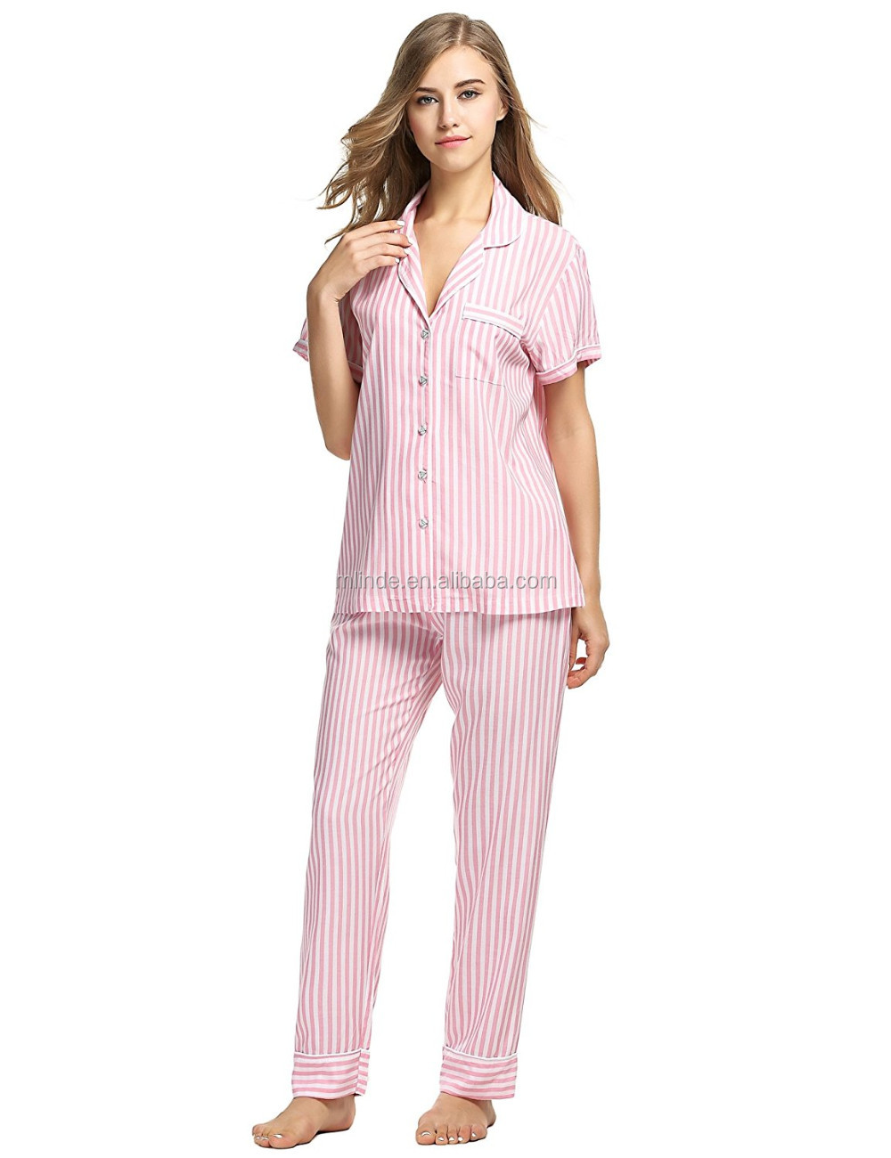 Get ready to get some cozy goodnight sleep ladies. * Sale For:1 Top + 1 pants * Material: Cotton * Color: Blue Bimba Cotton Button-Down Shirt With Pajama Capri Pants Night Wear Set Lounge Wea. $ Go to Cart. Alert. Congratulations, you have qualified for free shipping from this seller. Combine & save with this seller.
