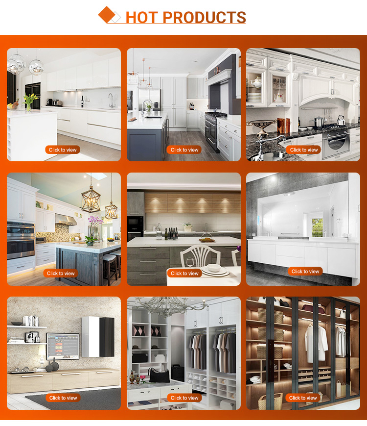 Modern shaker style complete kitchen cabinet joinery design