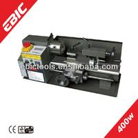 EBIC chinese metal lathe machine 400W professional mini used metal lathe for sale