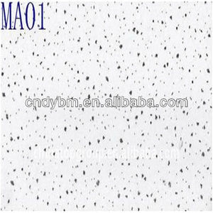 Mineral Fiber Ceiling Board For Office,Hospital,Restaurant,Hall,Etc