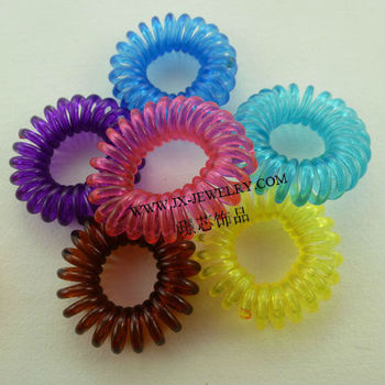 Yiwu Whole Est Plastic Spiral Hair Band