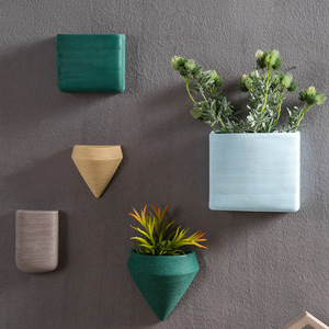 latest design european hanging wall ceramic flower pot plant pots wholesale