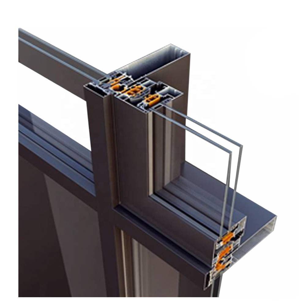 Glass curtain wall aluminum With Innovative Design Fabrication and Engineering