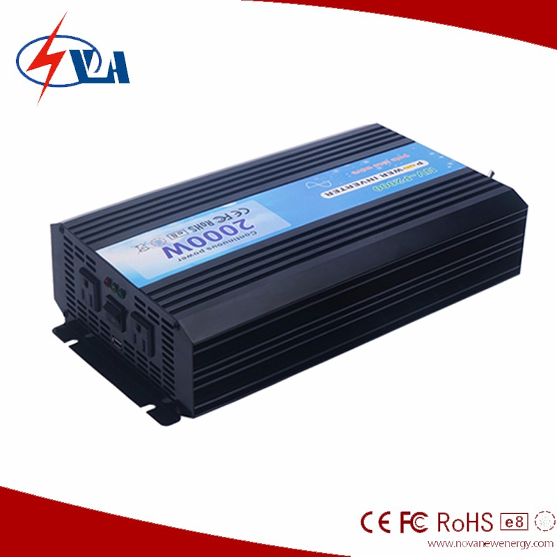 2000w micro solar grid tied inverters, 12/24/48v