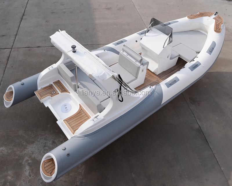 Rigid hull rib boat 660