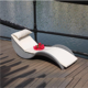Foshan Outdoor Leisure aluminum chair Lounge furniture Hotel poly wood Garden patio sun lounger with wheels beach chaise lounge
