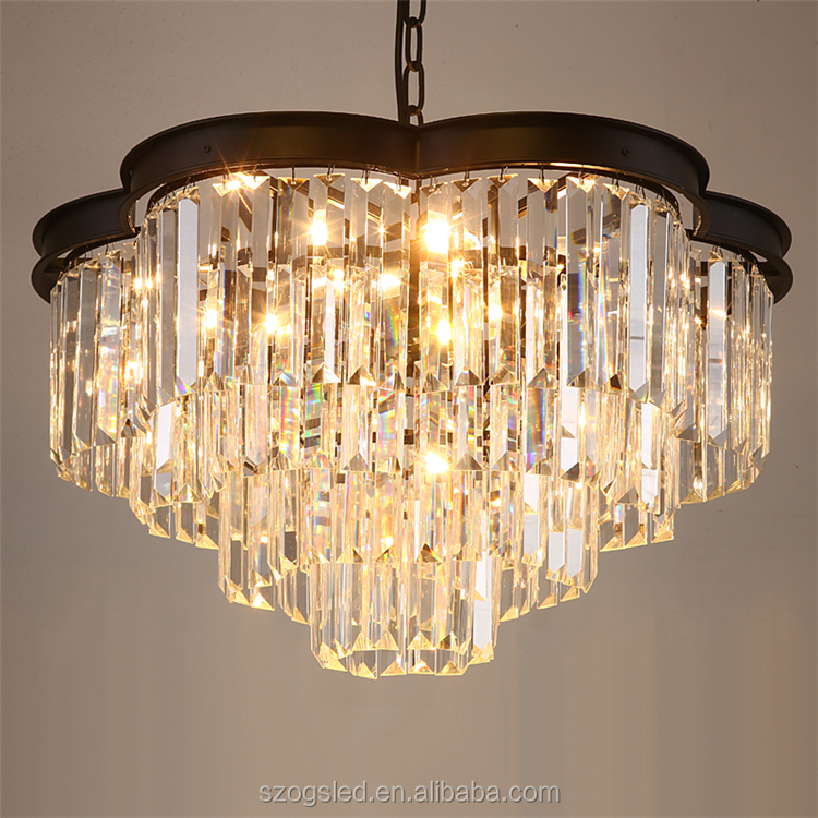 Ceiling crystal chandeliers home decor crystal chandelier pendant light