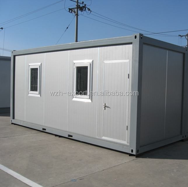 Professional effective Prefabricated Staff Canteen portable prefab container houses