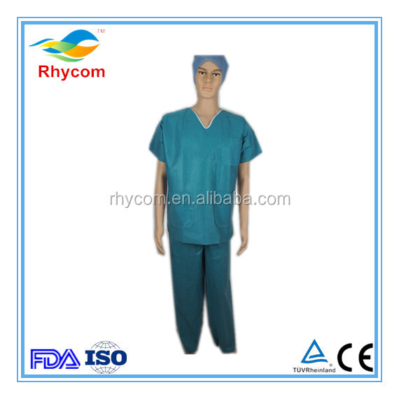 Types Medical dressing Supplies Medical Scrub Suits