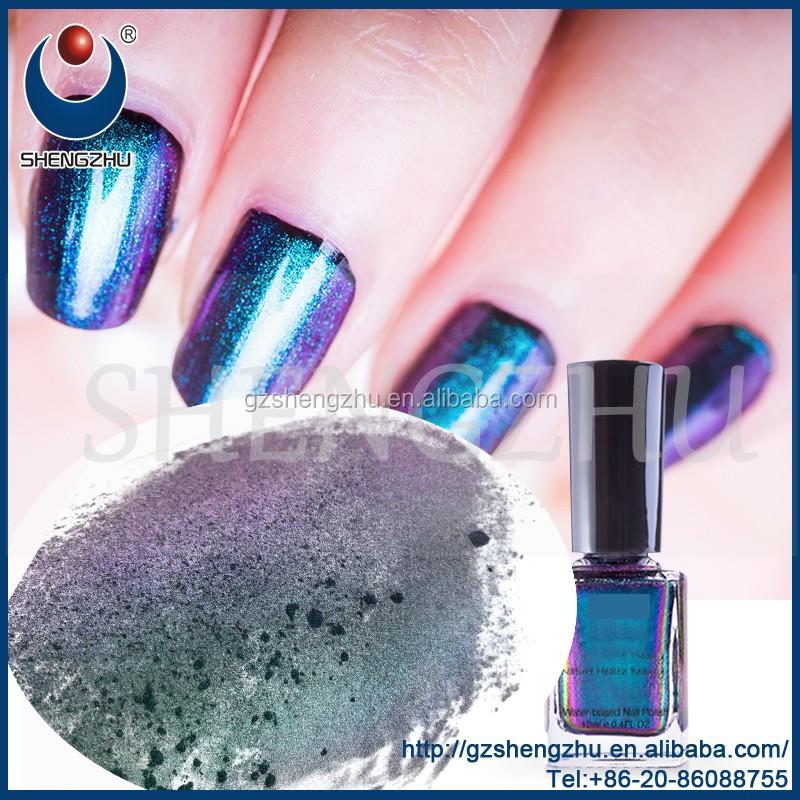 Venta caliente esmalte de uñas efecto camaleón pigmento en polvo NB ...