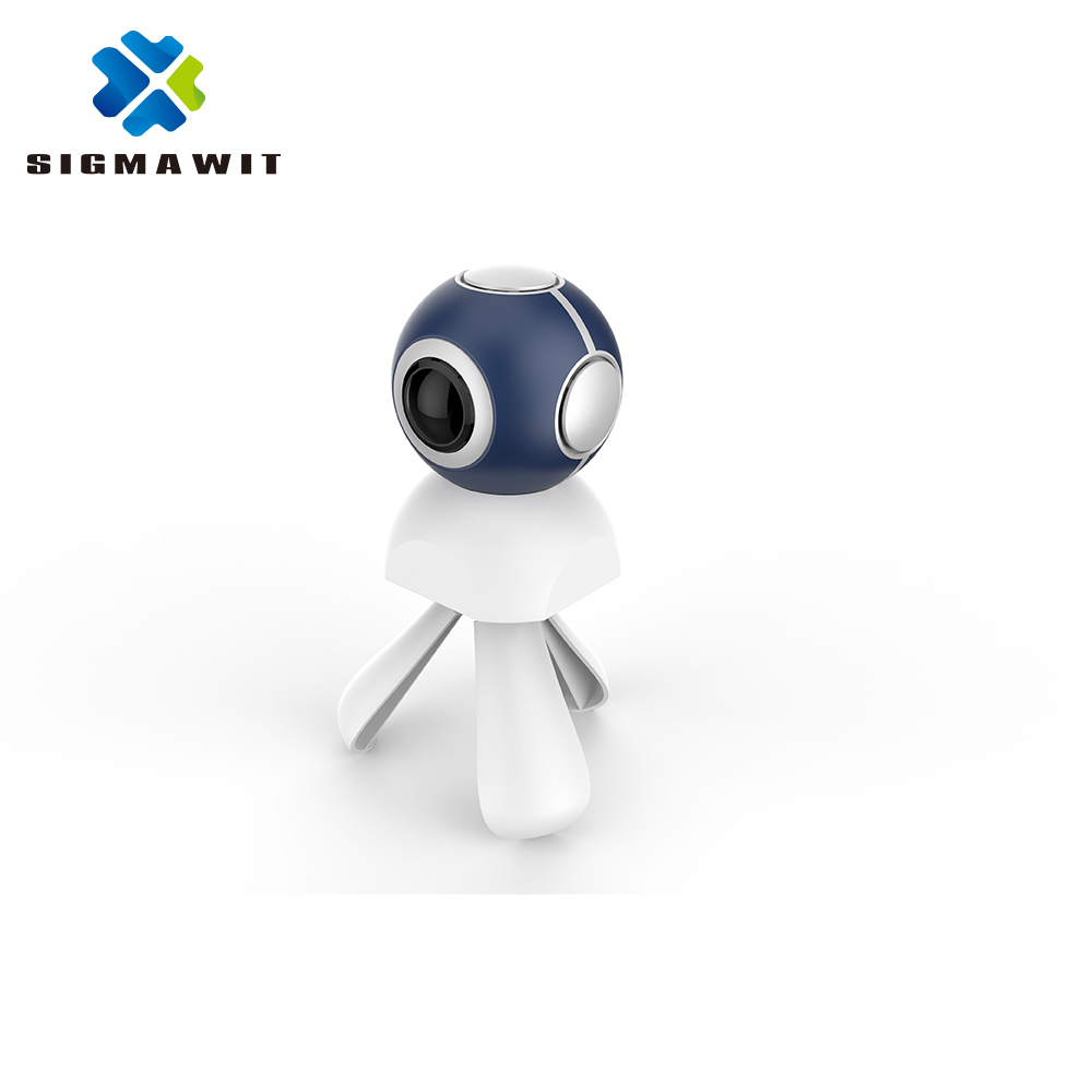 SIGMAWIT 2017 Hot Sale Full Spherical Fisheye Lens 720 Degree Android Mini Sport Action Camera