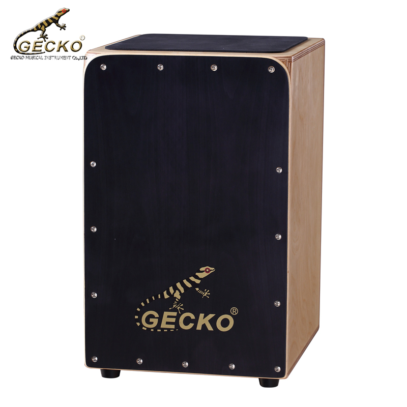 Gecko CL19BK birchwood Holz trommel box cajon trommel percussion instrument