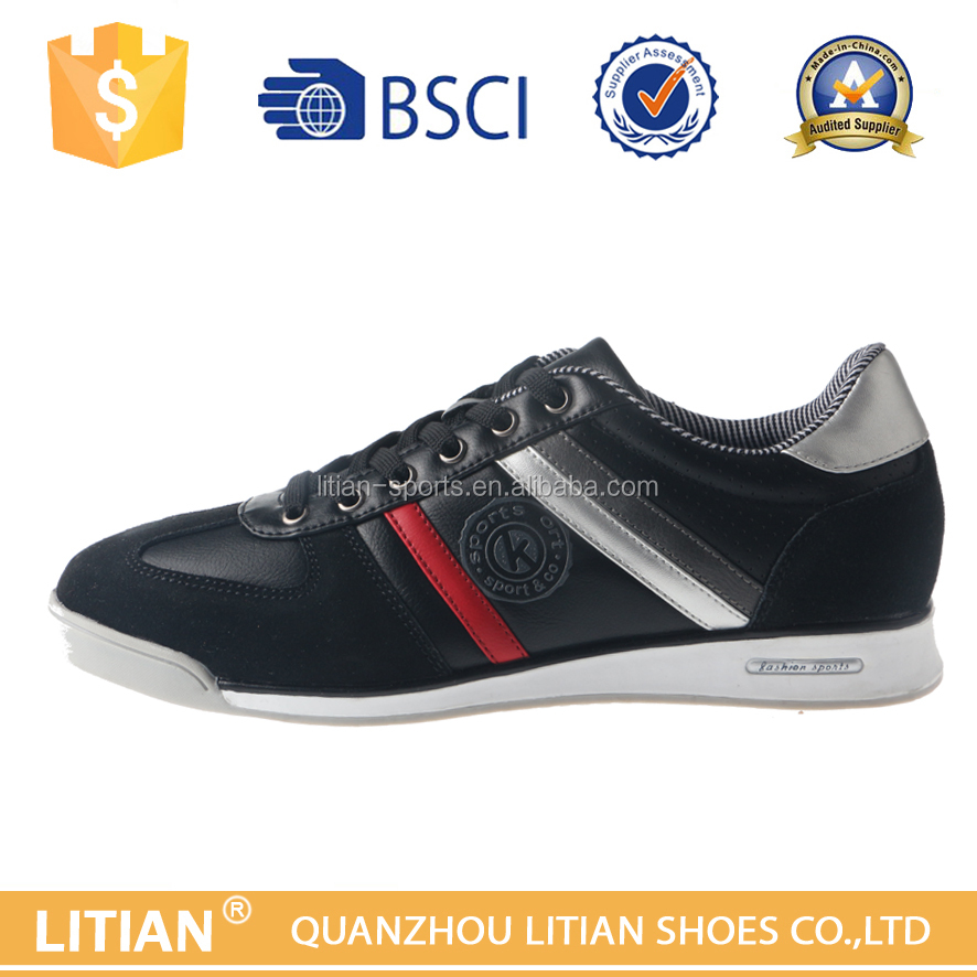 2016 Latest Men Sneakers Genuine Leather Shoes