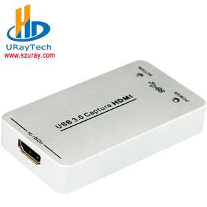 DHL Free Shipping 2016 Hdmi Linux Video Capture Grabber Usb 3.0 Hdmi Capture Card with high quality