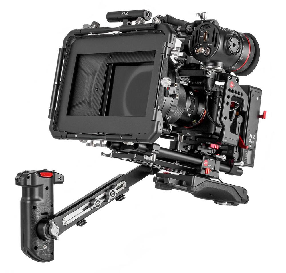"JTZ DP30 Cine Carbon Fiber 4x4"" Matte Box 15mm 19mm For Sony ARRI RED CANON BMD"