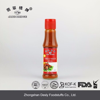 Czech style conical red pepper chilli sauce chili sauce hot pepper sauce
