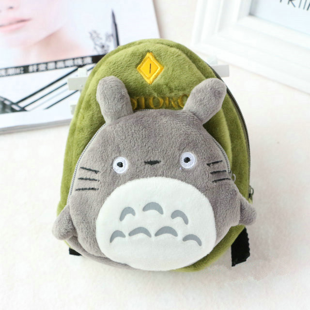 15 13 6cm Kawaii Totoro Bag Cartoon Cosmetic Messenger Bag Plush For Boys And Girls Cute