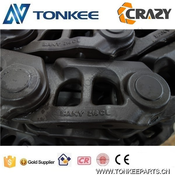 SANY 215CL track link assy track link track chain SY225 SY 235  Undercarriage track Chain Spare Parts