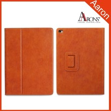 Stand Auto Wake Sleep Function Top quality genuine leather case for ipad