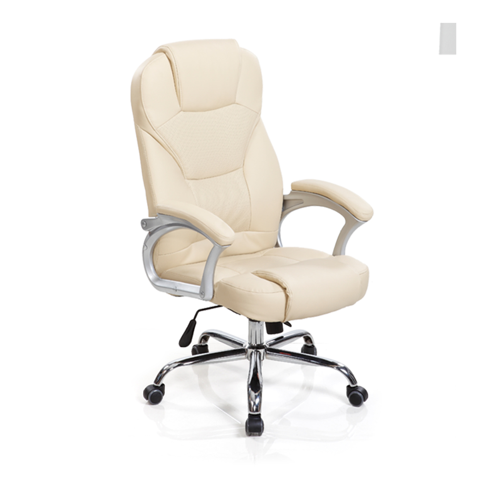 Brown leather office chair, executive office chair leather, high back office leather chair