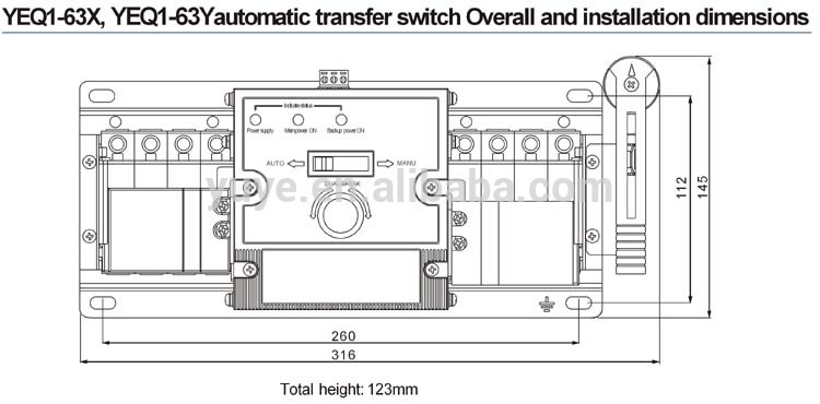 HTB1o7BhFVXXXXbyaXXXq6xXFXXXs motorized type mcb ats change over switch auto changeover switch 3 pole changeover switch wiring diagram at readyjetset.co