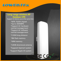 2.4G 300Mbps Hi-Power Long range Wireless Outdoor CPE wireless AP/Repeater/Client