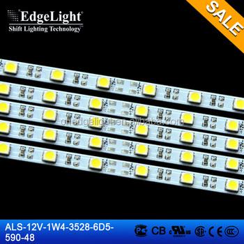Edgelight Strip Led Light 12v Smd Led Aluminum Ce Rohs Ul Led Strip Light 4mm White Color Led Strip Buy Aluminum Profile Led Strip Light Portable
