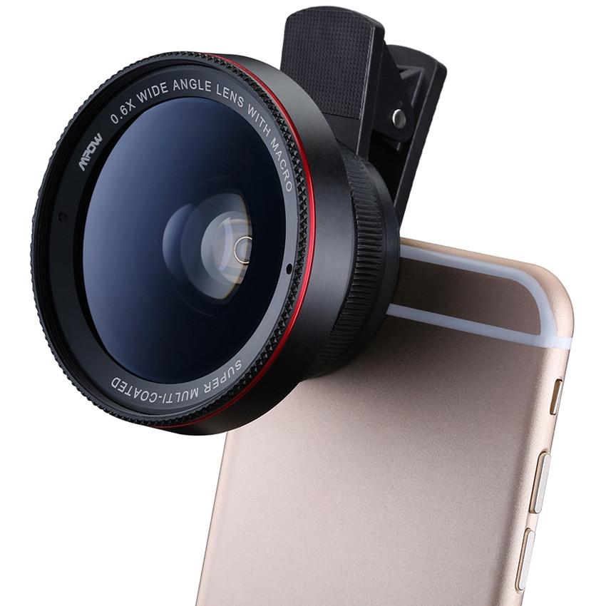 3-en-1 Gran Angular Macro Ojo de pez Lente c/ámara Kits de tel/éfono m/óvil Peces Ojos con Clip 0.67 x para iPhone Samsung Todos los tel/éfonos celulares,Gold