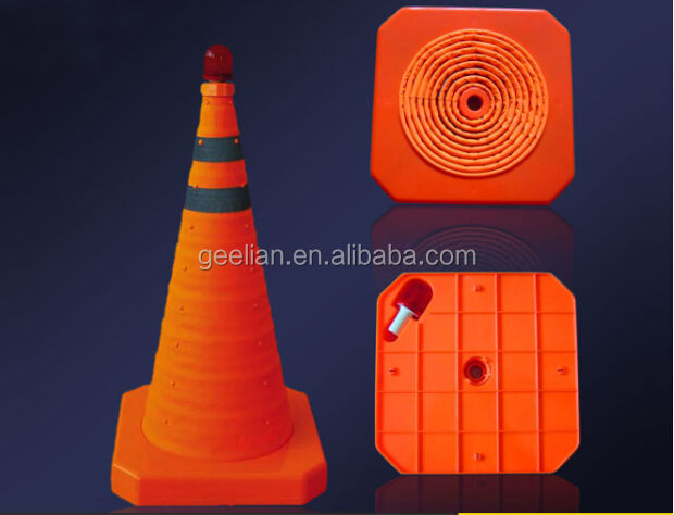 TUV certified factory for 100cm Plastic Used Traffic Cones