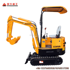 Chinese 0.8T Mini Hydraulic Crawler Excavator,mini garden excavator hot sale in Europe