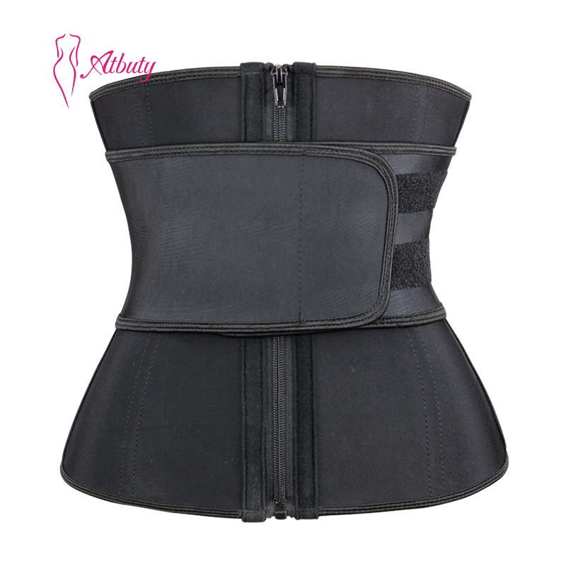 Faja Colombianas Floral Women Lose Slimming Waist Trainer Shapers