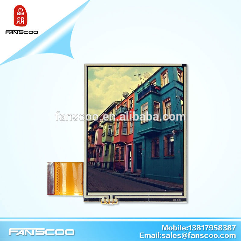 3.5inch qvga car dvd player tft display module with resistive touch panel rohs display module <strong>lcd</strong>
